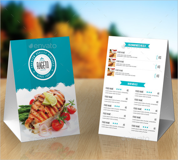 Catering Menu Template PDF