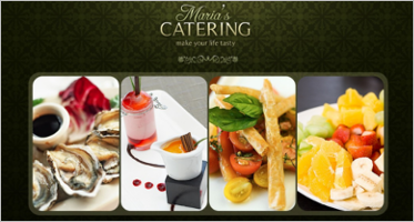 caterers website templates