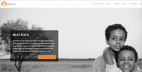 Charity MultiPurpose WordPress Theme