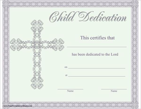 Children Church Certificate Template