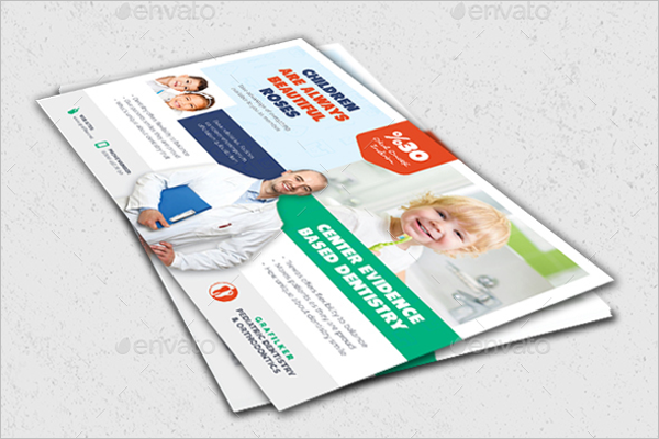 Childern Dental Flyer Template
