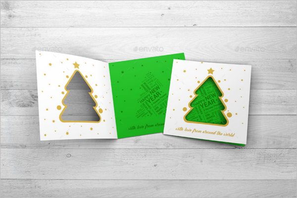 Christmas Card Mockup Idea