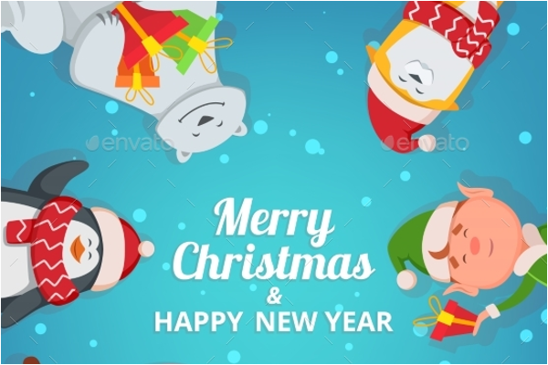 Christmas Background Design Idea