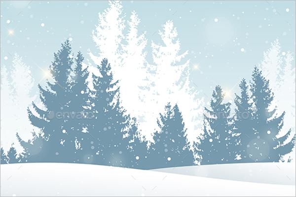 Christmas Background PSD Design