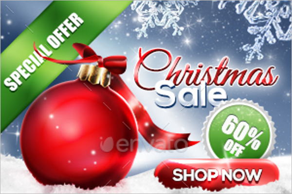 Christmas Banner Set Template