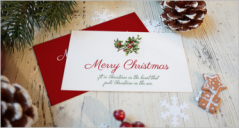 Christmas Card Mockups
