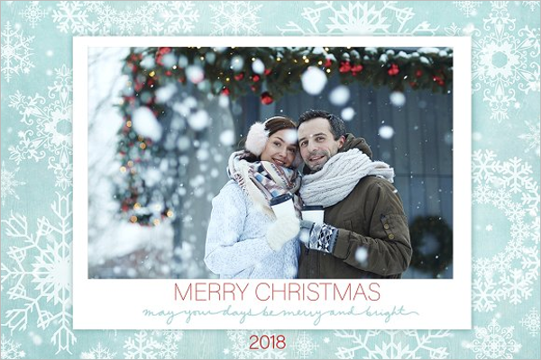 20 christmas photo templates free psd designs for Christmas card templates for photographers