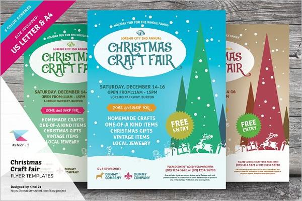 Christmas Craft Fair Template