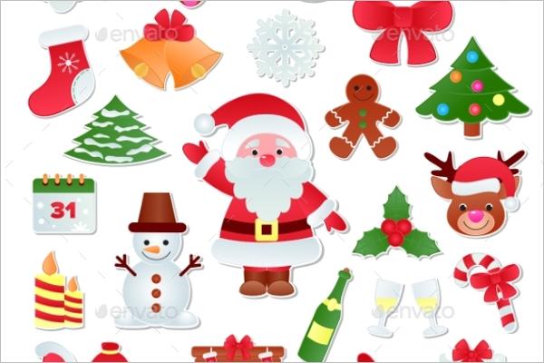 Christmas Elements Vector Design