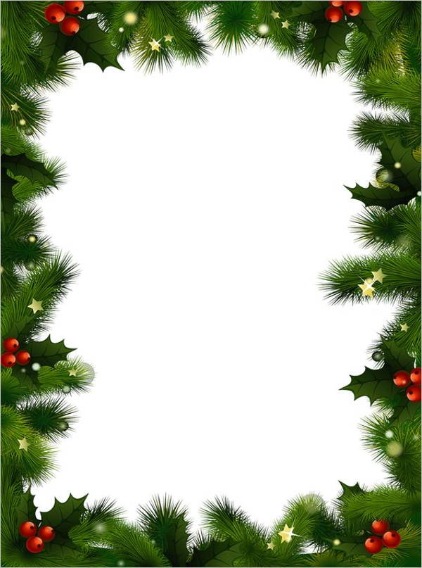 Christmas Email Stationery Template