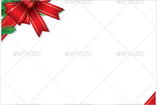 Christmas Gift Border Template