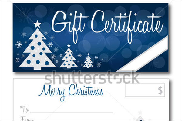 christmas gift certificate template word free - 22 christmas gift certificate templates free word pdf