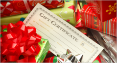 24+ Christmas Gift Certificate Templates
