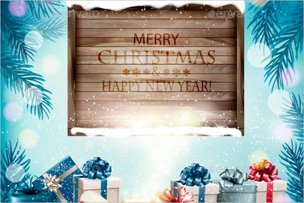 Christmas Holiday Background Design
