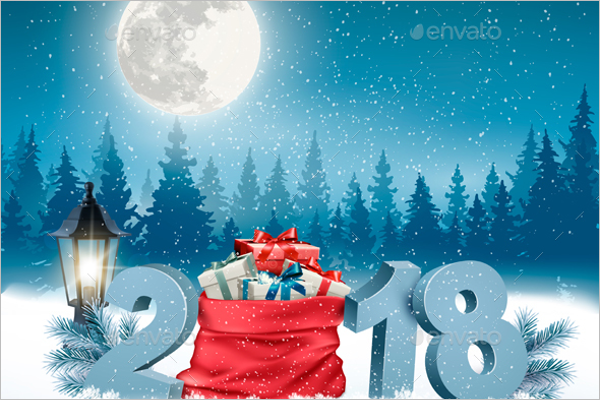 Christmas Holiday Banner Design