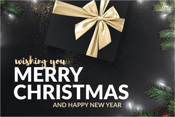 Christmas Holiday Greeting Template