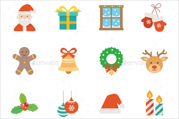 Christmas Icons Picture Design