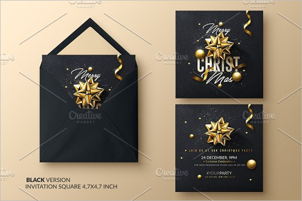 Christmas Invitation Design
