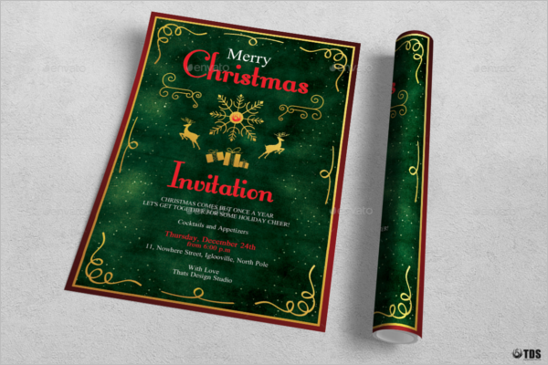 Christmas Invitation Idea Design