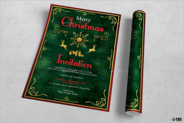 Christmas Invitation Idea Design