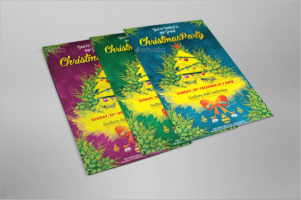 Christmas Invitation Template Bundle