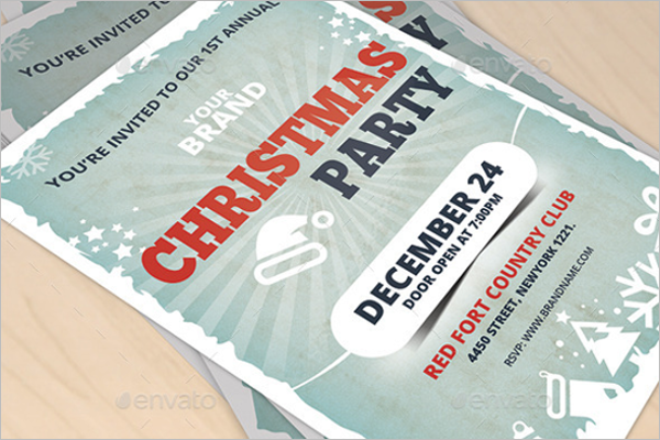Christmas Invitation Template PPT