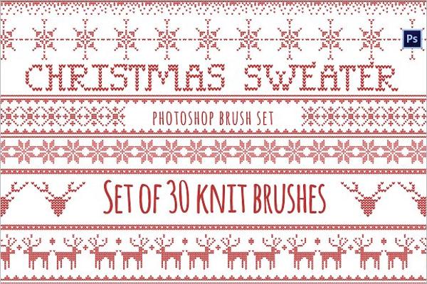 Christmas Lights Photoshop Brushes