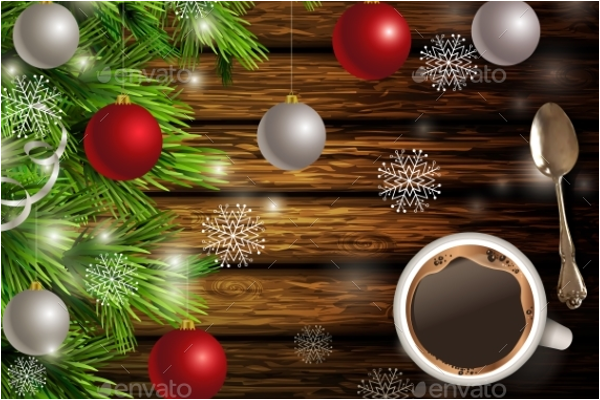 Christmas & New Year Background Design