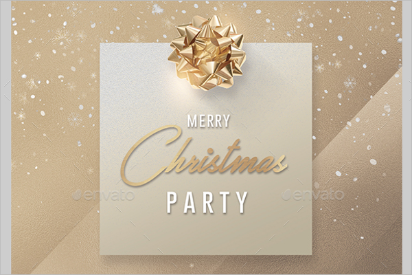 Christmas & New Year Invitation Template