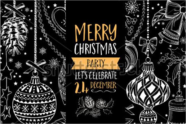 Christmas Party Vector Design