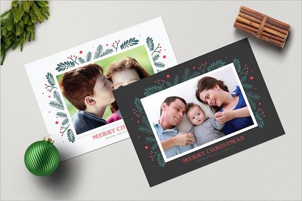 Christmas Photo Bundle Template