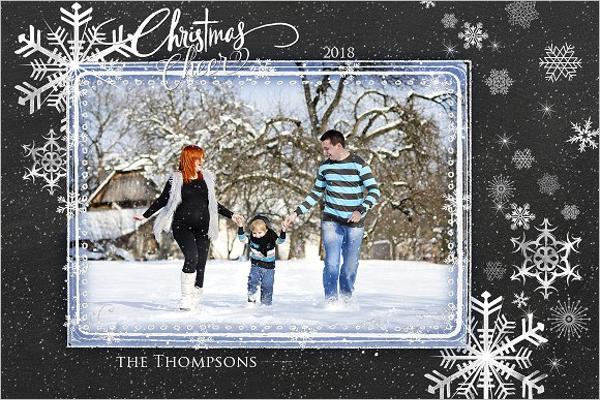 Christmas Photo Card Selection