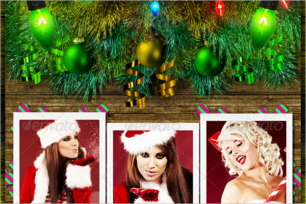 Christmas Photo Template Pack