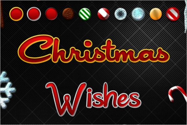Christmas Photoshop Fonts