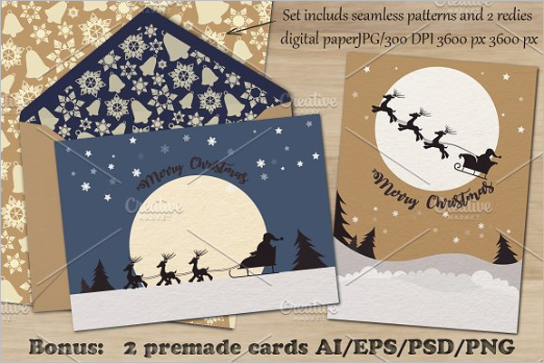 Christmas Photoshop PSD Pattern