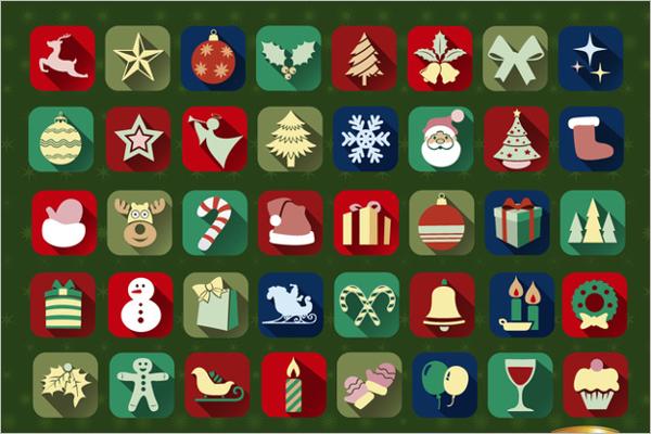 Christmas Presentation Icons