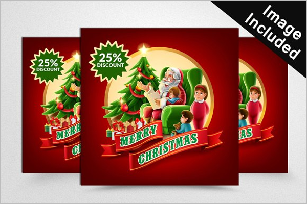 Christmas Web Banner Design