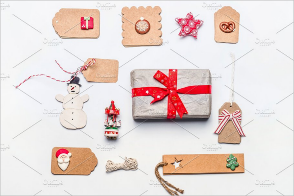Christmas Wrapping with Craft Paper