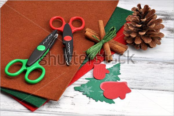 Christmas Craft Ornament Design