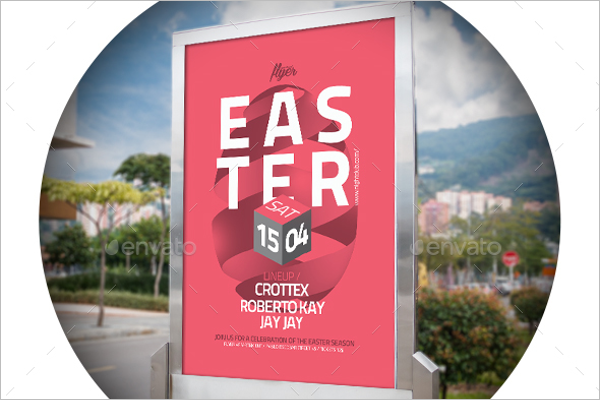 Church Easter Flyer Design