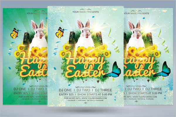 40 Easter Flyer Templates Free Word Psd Design Ideas