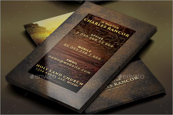 Church Teacher Business Card