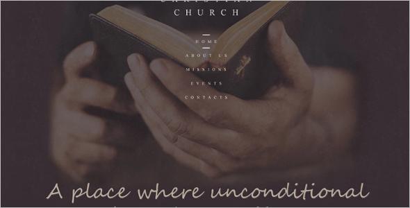 Church Website Idea Design