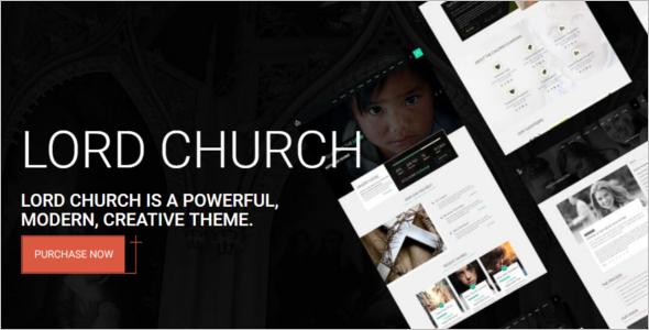 Church Website Template 2017