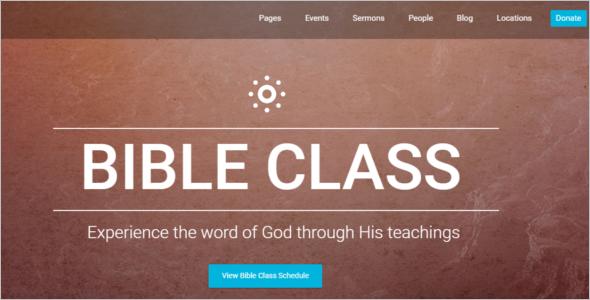 Church Website Template for Dreamwaver