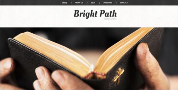 Church Website WordPress Theme