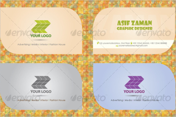Clean Visiting Card Design