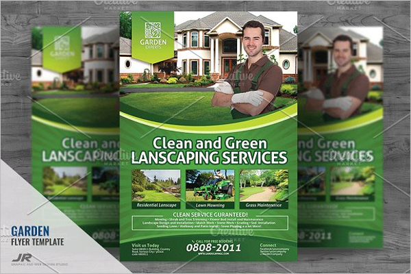 Cleaning Flyer Template PSD