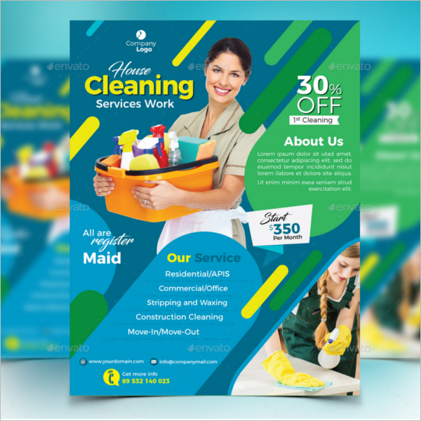 Cleaning Service Advertisement Sample