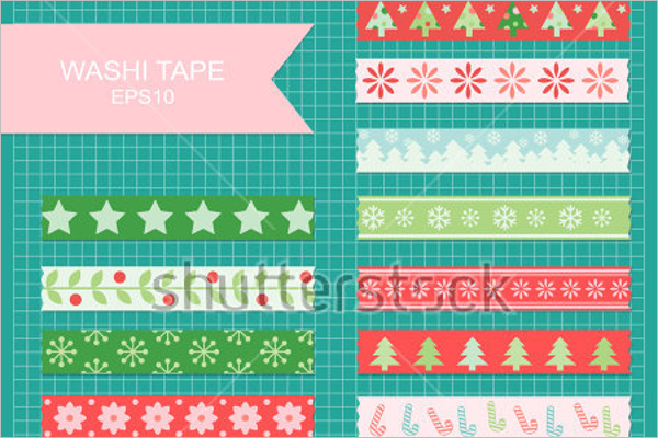 Colorful Christmas Craft Design